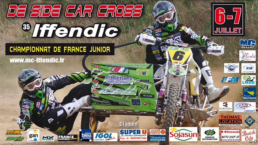 G.P FRANCE SIDE CAR: Iffendic est prêt !