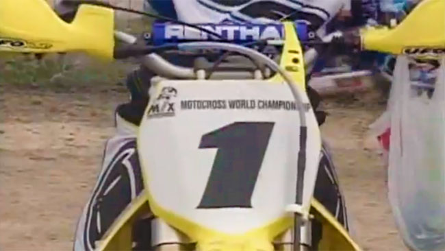 VIDÉO : La saison 2003 de GP MX1