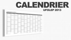 CALENDRIER UFOLEP 2013