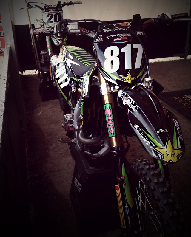 Jason Clermont - KX-F  BUD RACING 2013