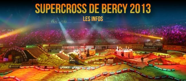 SUPERCROSS de BERCY 2013: Soyez prêt !