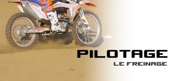 PILOTAGE MX: Le freinage avec Seb Tortelli