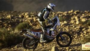 Belle opération pour Sébastien Coué dans le Rally du Maroc 2014 avec une 18ème place finale. Photo http://www.team-performance-enduro.com/