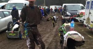 Conditions extrême pour Jeremy Roudaut et les 235 autres pilotes à St Leger de Balson. Photo JSR Team