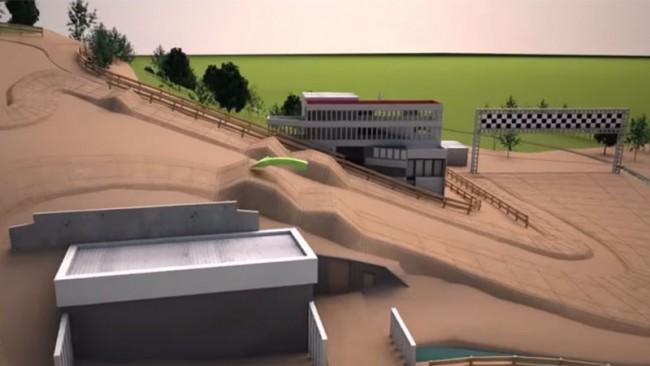 MXDN 2015: La piste d'Ernée en 3D