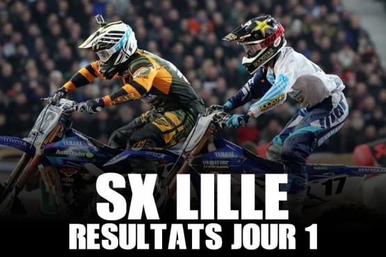 SX LILLE: Résultats jour 1