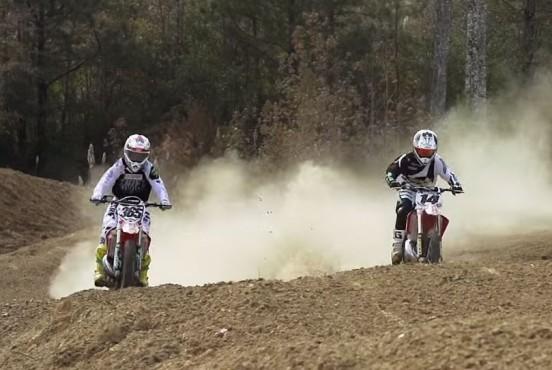 VIDEO: Kevin Windham CR250 – Brett Cue CR500