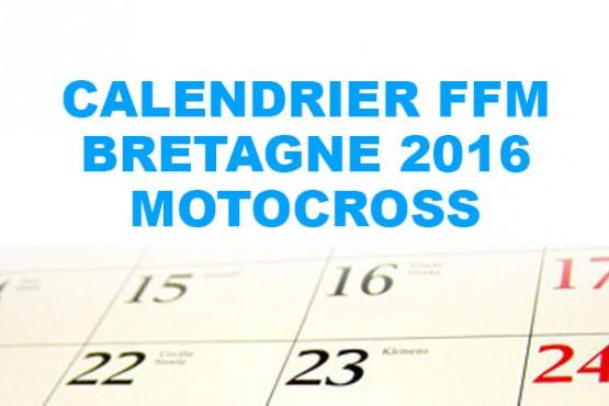 CALENDRIER FFM BRETAGNE 2016