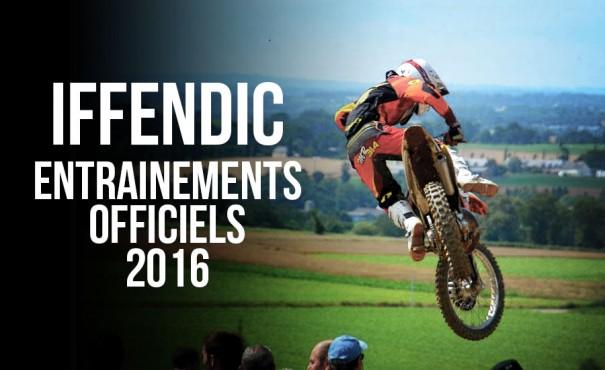 IFFENDIC: Les dates des entraînements officiels 2016