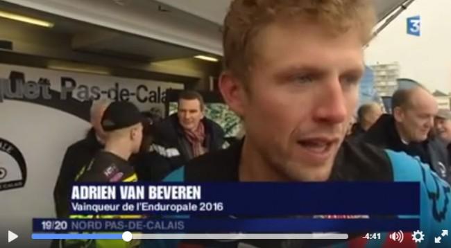 ENDUROPALE: L'interview d'Adrien Van Beveren
