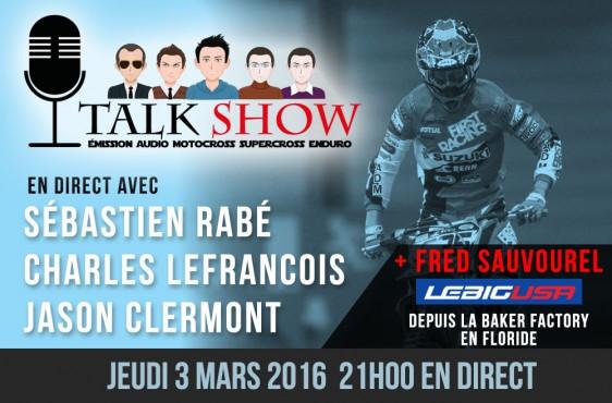 TALK SHOW REPLAY: Avec Rabé, Lefrançois, Clermont et Sauvourel