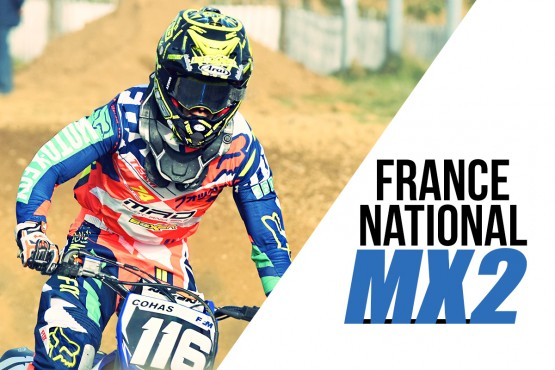 NATIONAL MX2: Cohas sur le podium à St-Eloi