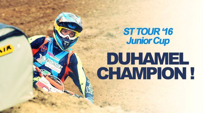 SX TOUR '16: Duhamel le fait !
