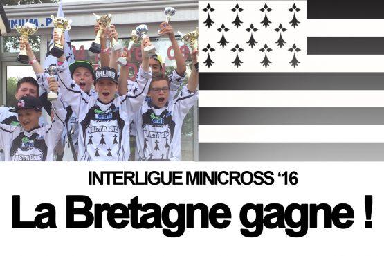 INTERLIGUE MINICROSS 2016: La Bretagne championne !