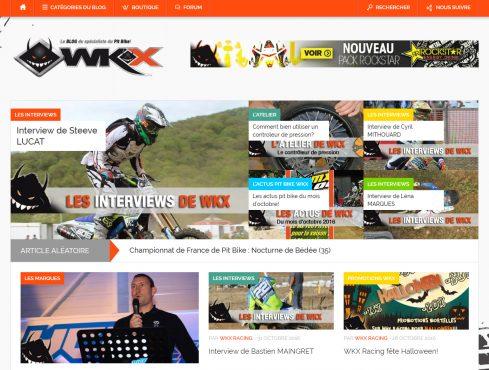 WKX Racing: 100% PIT BIKE