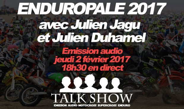 (replay) TALK SHOW: Émission spéciale « Enduropale »