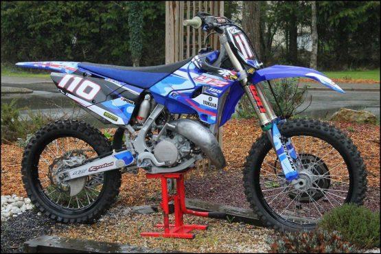 MOTO DU JOUR: Yamaha 125 YZ «Tolosa»
