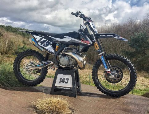 MOTO DU JOUR: KTM 250 SX «Le Moing»
