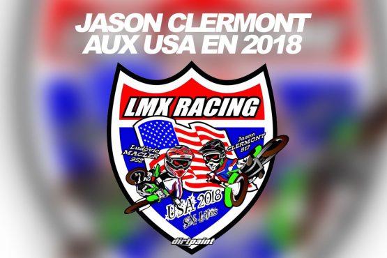 AVENTURE: Jason Clermont aux USA en 2018