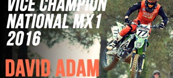 NATIONAL MX1: Adam vice-champion 2016