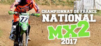 NAT MX2 '17: Adam et Pape sur le podium à St Aignan