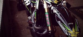 La KX-F «Bud Racing» de Clermont