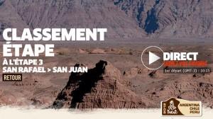 Dakar 2012 : Etape 3