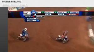 Qualif 450 Houston 2012 – Duel Stewart/Windham en français