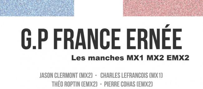 G.P FRANCE: Les courses
