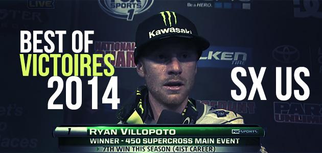 SUPERCROSS US: Les 17 victoires de 2014