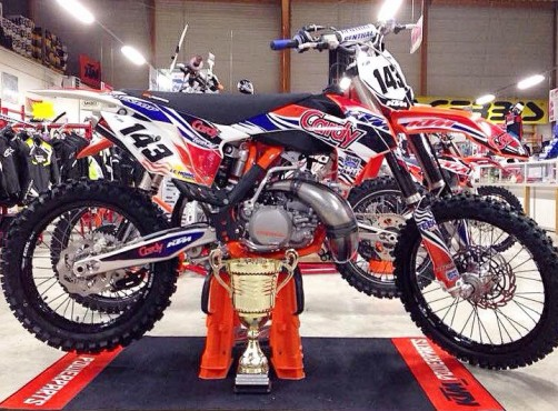 MOTO DU JOUR: 250 KTM 2015