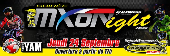 MXD'NIGHT: SOIREE MOTOCROSS DES NATIONS 2015 A RENNES