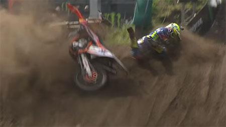 VIDEO: MXGP 2015 CRASH COMPILATION