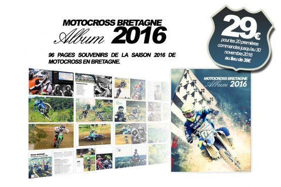(Mise à jour) MOTOCROSS BRETAGNE ALBUM 2016: Le souvenir unique de l'année
