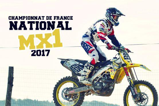 NAT MX1 '17: Charles Lefrançois poursuit à Nevers